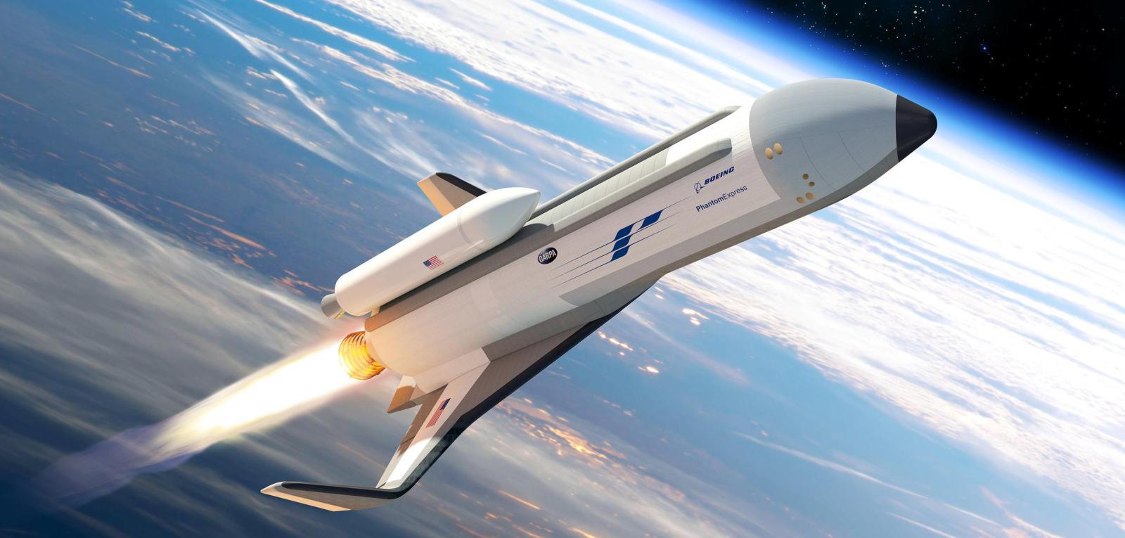 Auftrag vom Pentagon: Mini-Space-Shuttle von Boeing (Quelle: Boeing)